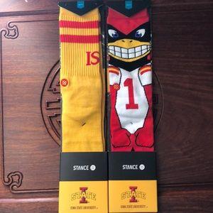 Men's socks Iowa State University